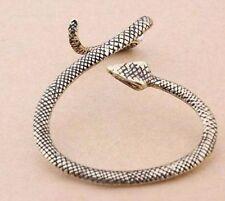 1x Cute Antique Gold Tone Cobra Snake Ear Cuff Stud Earrings Climber Rings ECF30