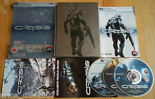 CRYSIS LIMITED SPECIAL EDITION METAL STEEL BOOK TIN CASE for PC RARE & COMPLETE