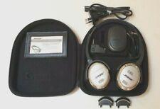 Bose QuietComfort QC3 Noise Cancelling Headphones + 2 Extra Batteries