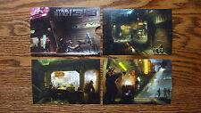Star Wars 1313 Art Print Postcard Set w/ Sleeve - Rare Press Promo Item