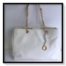 Oroton Leather ALPINE CHAIN Tote Hand Bag Brand New with Tags SEASHELL