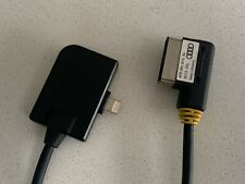 VW Volkswagen Audi iPhone Adaptador Cable Lightning 4F0051510AL Cargador de MDI