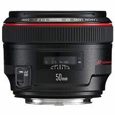 Near Mint! Canon EF 50mm f/1.2 L USM - 1 year warranty