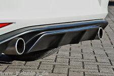 Sonderaktion Heckansatz Diffusor Heckspoiler ABS für Golf 7 GTI Eintragungsfrei