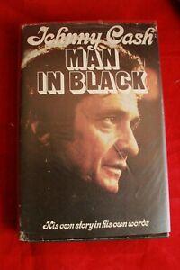 Man in Black by Johnny Cash. Auto Biography; 1st edit (Hardback, 1975)