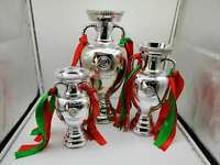 UEFA European Henri Delaunay Championship Trophy Cup Statue