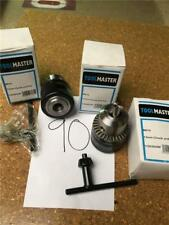 """CLEARANCE LOT90 TOOLMASTER 13mm 1/2"""" CHUCK AND KEY 1/2"""" X 20 UNF THREAD"""