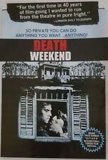 DEATH WEEKEND  (DVD 1976 Uncut classic horror)