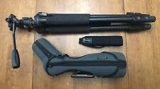 Swarovski ATS 80 Angled Spotting Scope W/ 20-60x Eyepiece/Protective Case/Tripod