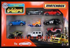 2020 Matchbox 9-Pack w/Exclusive Volkswagen Transporter Yellow / No Cargo / Mib