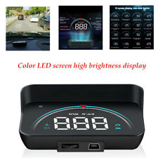 M8 Car Head Up Color LED Display Overspeed Warning System Speedometer Projector