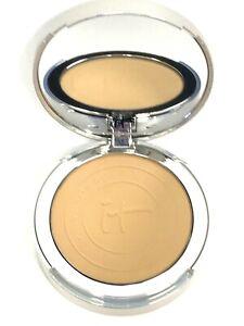 It Cosmetics CC+ Airbrush Perfecting Powder Foundation TAN NEW
