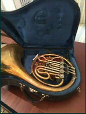 Vintage Germany Brass Pipe French Horn Hans Hoyer