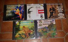 Lot Of 5 Classical Music CD's Ravel, Liszt, Scubert