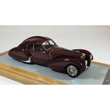 CHROMES 067 - Bugatti 57S Atlantic 1936 sn57473 Burgundy  1/43