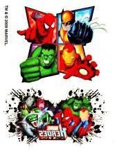 """Marvel Tattoo 2-10, Temporary Tattoo, """"The Avengers"""""""