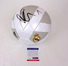 Eden Hazard Real Madrid Belgium Signed Autograph Soccer Ball Futbol PSA/DNA COA