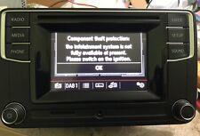 VW L56VW2 MIB2 PQ DAB CD RADIO PLAYER BLUETOOH FRONT AUX & SD SOLT 1K8 035 150 L