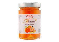 Ital.Senffrüchte kandiert ganze Clementinen 380g Lazzaris Mostarda di Clementine