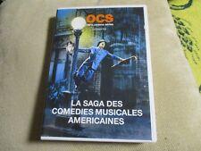 "RARE! DVD PROMO ""LA SAGA DES COMEDIES MUSICALES AMERICAINES"" serie documentaire"