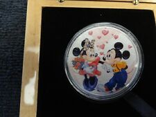"""2020 Silver Eagle Colorized """"Mickey and Minnie Mouse"""" 4 sold and 1 to go"""