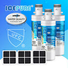 Fit For LG LT1000P LFXS26596S AGF80300704 ADQ74793501 Water Air Filter 3 Pack photo