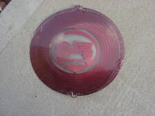 """Ford 8N Red Tractor 12"""" x 11"""" Hanging Metal Wind Spinner Made in Usa"""