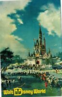 Vintage Postcard - Magic Kingdom Theme Park Walt Disney World Florida #5320
