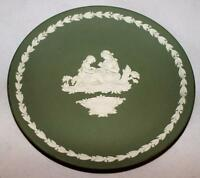 "Wedgwood Jasperware Green Accent or Dessert Plate, 6 1/2"""