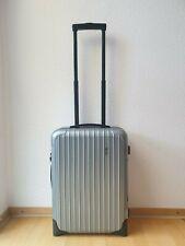 RIMOWA Salsa Koffer Handgepäck Cabin Trolley 55 cm silber TOP! Classic Essential