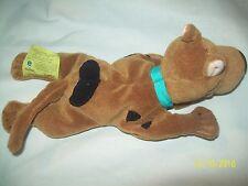 "2000 Cartoon Network Laying 9"" Scooby-Doo Beanie Plush Toy"