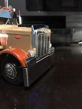 Model Truck Polished Aluminum Bumper 1/25 Scale Peterbilt, Kenworth