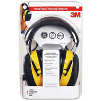 3M 90541 Digital WorkTunes Hearing Protector & AM/FM Stereo Radio, 22 dB
