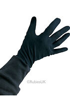 Rubie Kids Boy Girl 100% Cotton Gloves Black Doctor Captain Magician Santa Glove