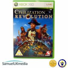 Sid Meier`s Civilization: Revolution (Xbox 360) **IN A BRAND NEW CASE!**