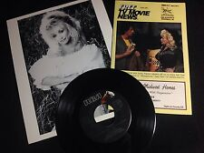 Dolly Parton Sylvester Stallone 1985 Tv Listing Magazine Publicity Photo&Record