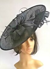 large statement hatinator in Navy Blue ..Wedding,races..New..sale