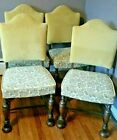 4 JACOBEAN Chairs antique  DELIVERY to most Destinations 150.00 Each  4 = 600.00
