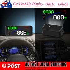 2018 Universal Car OBD2 Smart Digital Meter Speed Warning HUD Display AU New