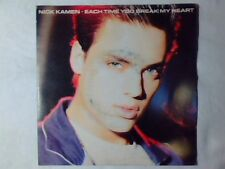 """NICK KAMEN Each time you brean my heart 7"""" ITALY MADONNA"""