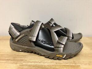New Merrell Aluminum Women's All Out Blaze Web Grey Sandals Size 6 Shoes J37614