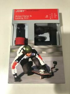 JOBY Action Series action Clamp & Locking Arm for GoPro Sony Panasonic Contour