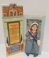 Hallmark Suffrage Rag Doll Susan B Anthony Famous Americans Series 1 1979