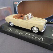 747E Solido 4596 Peugeot 403 Cabrio 1:43
