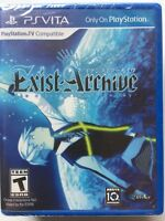 Exist Archive: The Other Side of the Sky (Sony PlayStation Vita, 2016) NEW