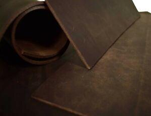 Bullenleder Dickleder Dosset 3,5-4,0 mm Sattlerleder Blankleder dunkel-braun vrd