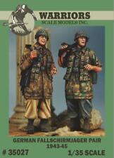 Warriors 1:35 German Fallschirmjager - 2 Resin Figures Kit #35027