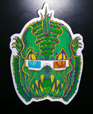 STICKER - Creature Feature -HORROR / Monster- Creature from the black lagoon 3D