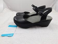 New Dansko Women's Sam Shoes  40  10  Black Slingback