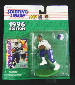 San Diego State Aztecs MARSHALL FAULK 1996 SLU Figure : NFL Indianapolis Colts